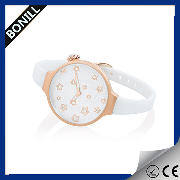 2016 Spring watches charm watch slim watch with your own logo