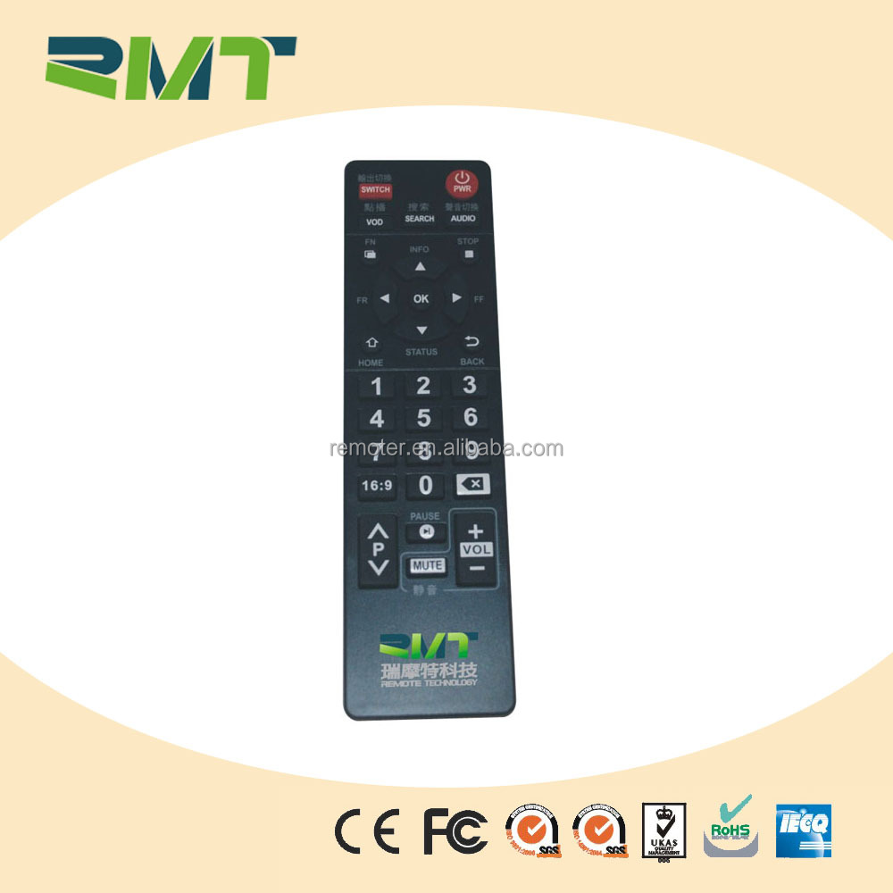 OEM Service tv remote control for akira