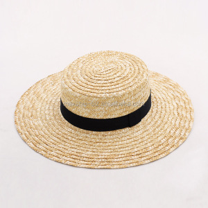 183103552c5bc Custom Straw Boater Hat Wholesale