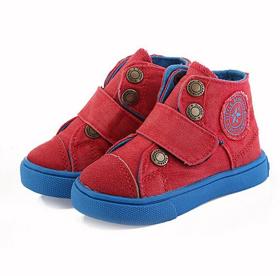 new autumn children shoes girls boys shoes fashion breathable canvas shoes boys comfortable high top casual sneakers kids shoes