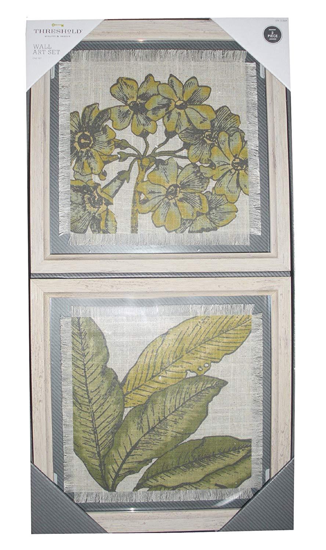 "Threshold Wall Art Set (2 - 10"" X 10"" Frames)"
