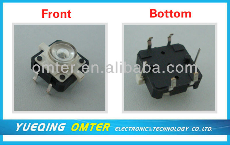 Mini On/off Electric Light LED Control Tact Switch