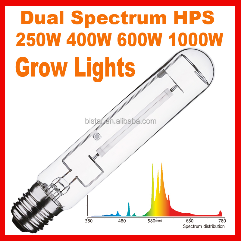 HPS 250w/400w/1000w high lumen output grow sodium lamp