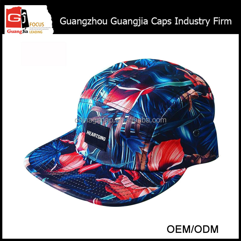 Guangjia Cap Factory Wholesale Custom T-Shirts And Caps