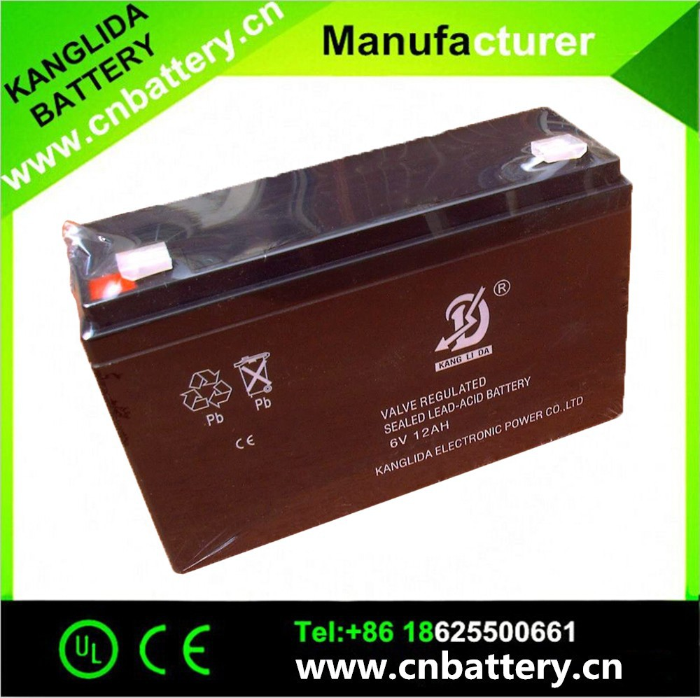 6v10ah sealed deep cycle lead acid battery for attendance machine