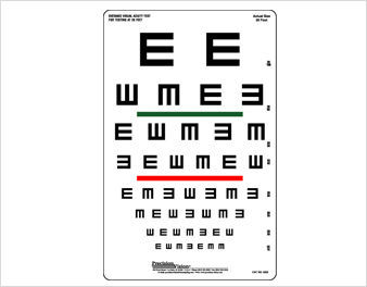 Near Vision Eye Test - Buy Near Vision Eye Test,Ophthalmic Equipment,Vision  Testing Chart Product on Alibaba com