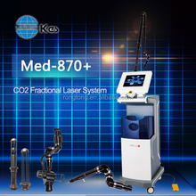 fractional scar removal skin resurface surgical co2 laser machine