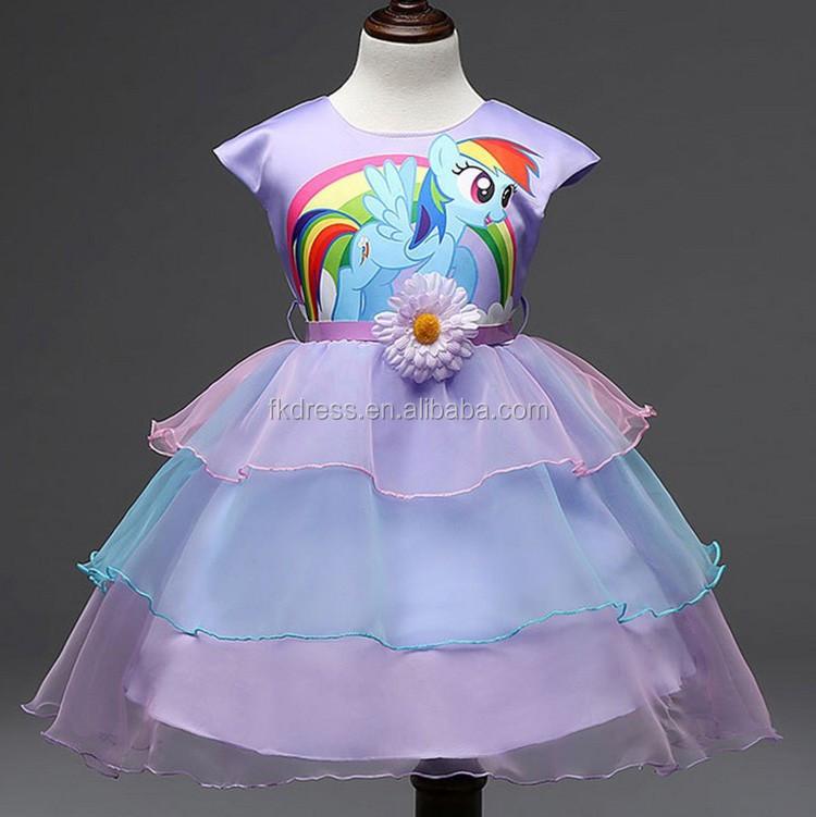 Flor vestidos para niña de 5 años de edad-Vestidos para chica ...