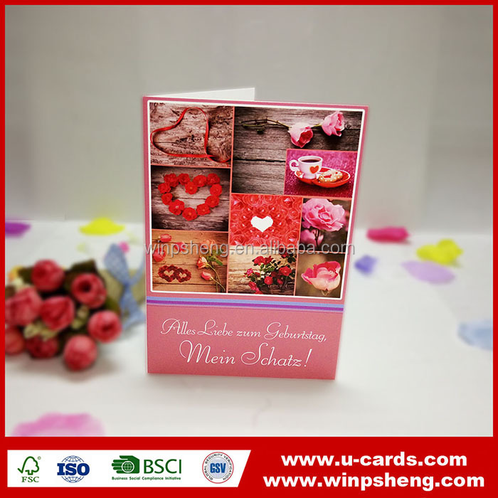 Guangzhou factory embroidery designs wedding invitation card