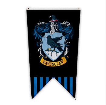 image regarding Harry Potter House Banners Printable named Electronic Printing Harry Potter Flags Hogwarts Ravenclaw Crests Wall Placing Banner For Halloween Xmas - Obtain Harry Potter Banner,Harry Potter Place