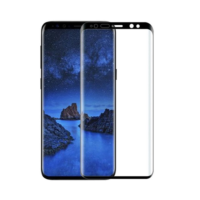 9h note 9 tempered glass screen flim 5D full cureved Good Quality Tempered Glass Screen Protector for Samsung Note 9, Clear;black