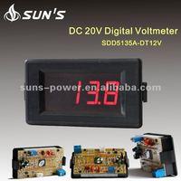 LED Panel Digital DC5V/DC6-15.5V AC5A current meter / Digital AC Ammeter