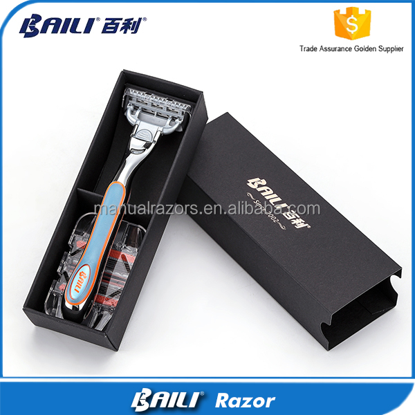 Replacement Blade Shaving Box Set 5 Blade Manual Razor Direct Factory