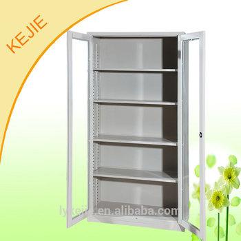 Lockable Cabinet With Glass Door Steel Godrej Cupboard Metal File ...