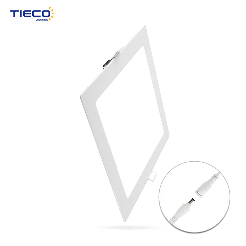 New design enconomy model recessed led panel light 6w with CE TUV GS certificate