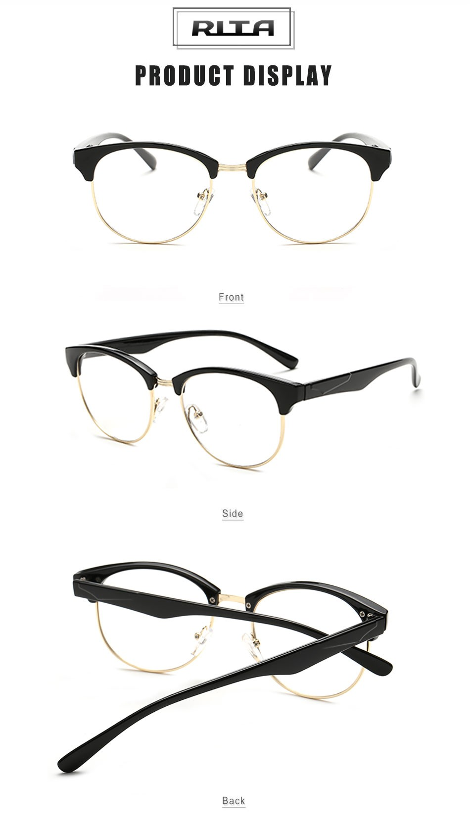 Rimless Glasses Round Face : Semi Rimless Glasses For Round Face Louisiana Bucket Brigade