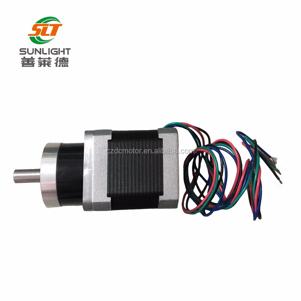1.8 degree nema 17 geared stepper motor with gearbox
