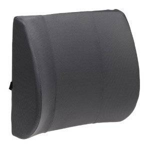 Lumbar Support Cushion - Gray color, this lumbar support office chair back cushion helps the lumbar and sacral region of the spinal column. This Lumbar support helps to keep a good posture while sitting and also prevent to any kind of spinal column problems, it is ideal for those who work all day