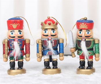 FQ brand Factory direct sale Mini promotion christmas gift wooden nutcracker