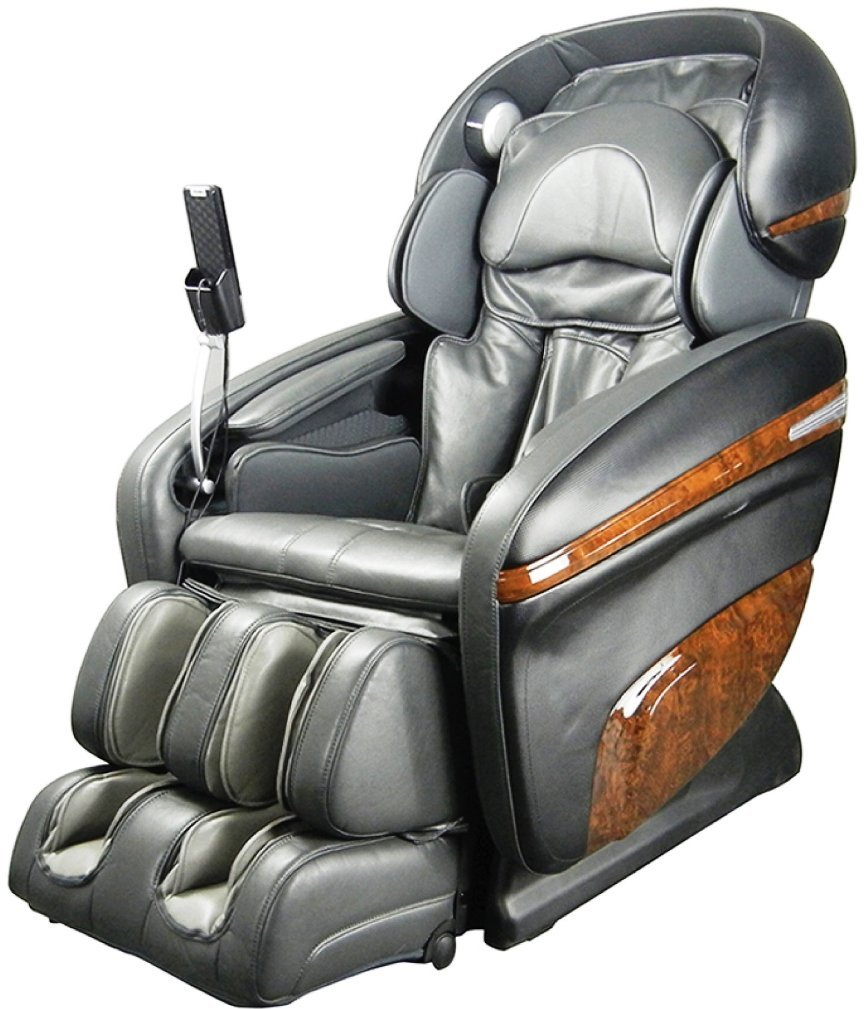 Osaki OS-3D Pro Dreamer C Model OS-3D Pro Dreamer Zero Gravity Massage Chair, Charcoal, Large LCD Display, 3D Massage Technology, 2 Stage Zero Gravity, 2nd Generation S-Track, Accupoint Technology
