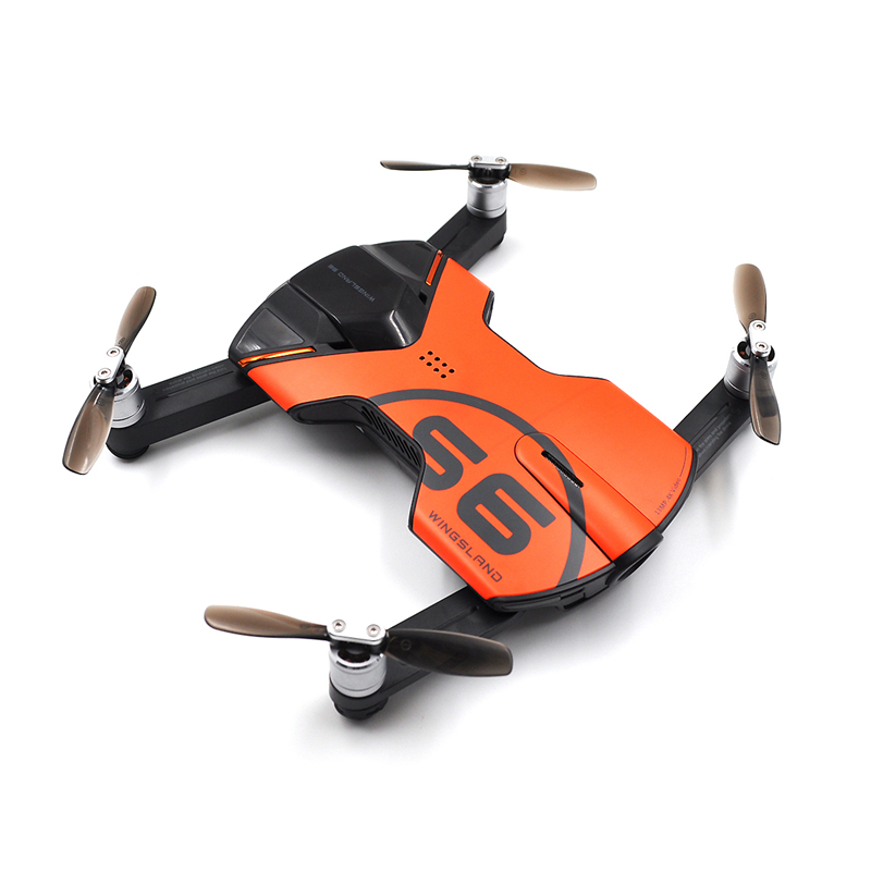 Koeoep Wingsland S6 Pocket Drone FPV Quadcopter With 4K HD Camera RC helicopter