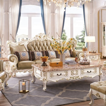 Top Luxury Royal French Style Wood Beautiful Sofa Set Price For Living Room  - Buy Sofa Set Price,Sofa Set For Living Room,Beautiful Sofa Set Product ...