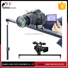 Photography black aluminum mini camera slider