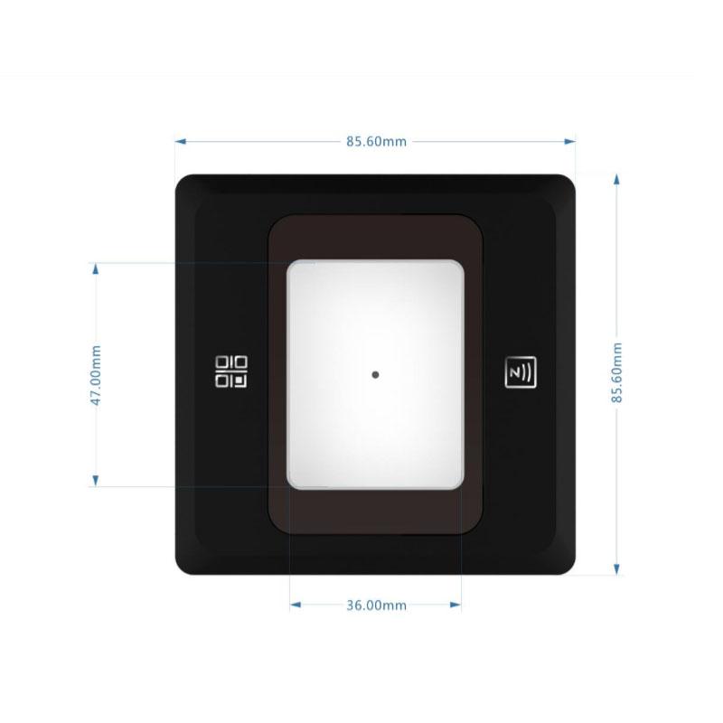 Wiegand Kiểm Soát Truy Cập Hệ Thống Qr Code Reader 2D Máy Quét Mã Vạch
