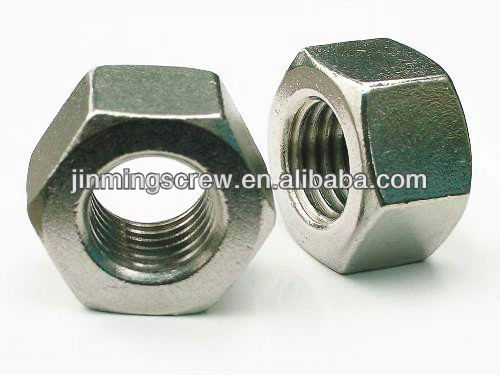 hex back nut