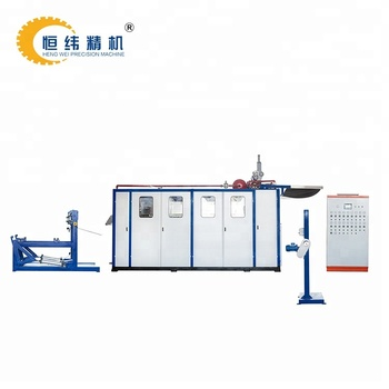 hydraulic thermoforming machine for making disposable plastic cup