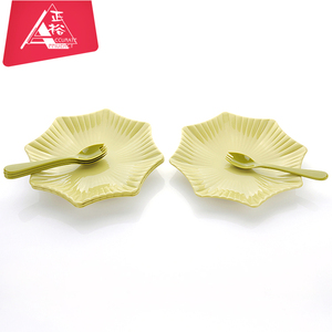 Healthy plastic homeware restaurant custom plastic tray