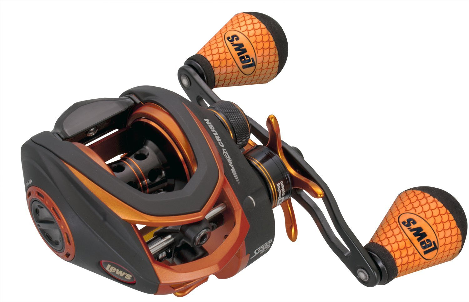 Lews Mach Crush Speed Spool Baitcast Reel