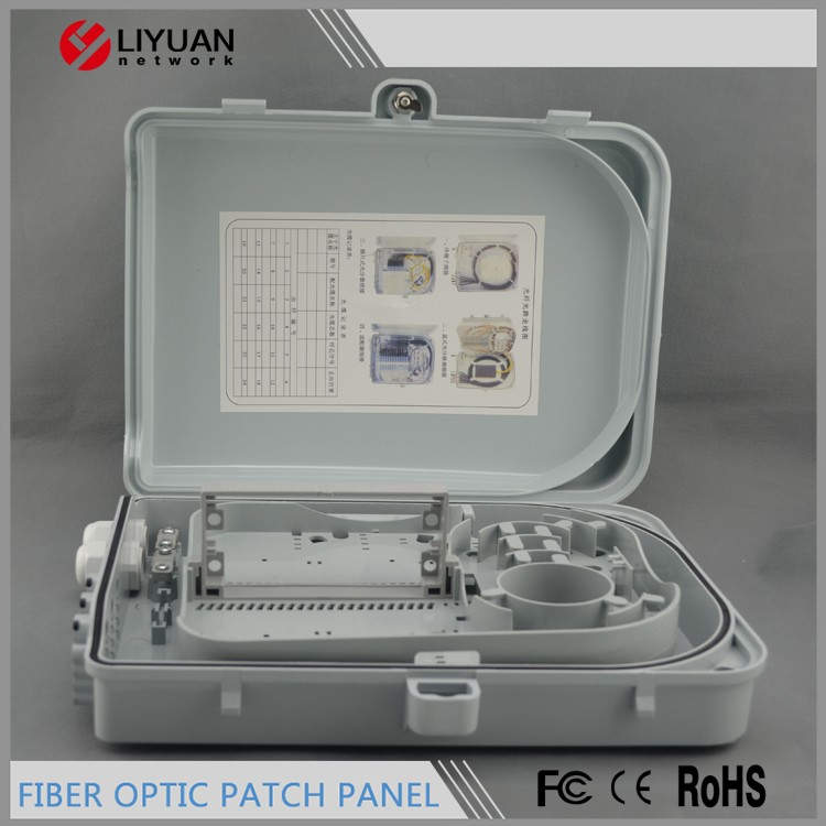 LY-FO-30 FTTH Outdoor Optical Fiber Distribution Box / Cable Terminal Box