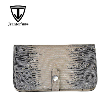 Lizard Leather Clutch Bag Luxury Handbags Women Bags Brand Designer Handbag