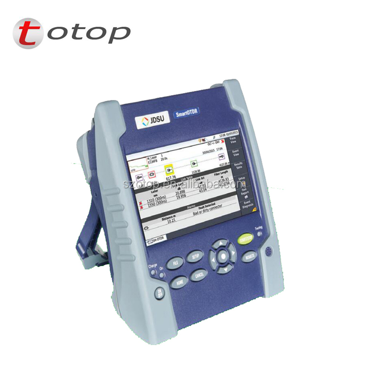 Handheld OTDR JDSU OTDR Inteligente 100A 30/28dB E100AS single mode 1310/1550nm Optical Time Domain Reflectometer