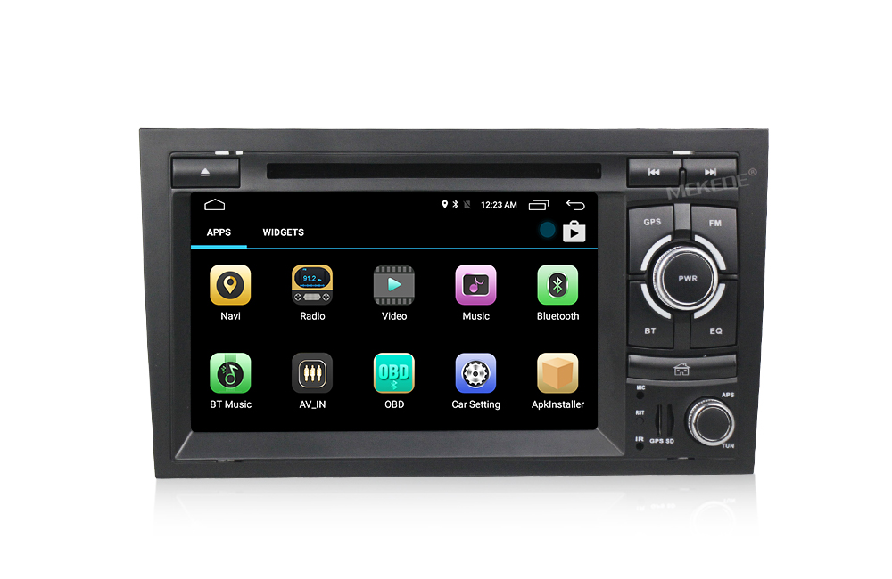 "New UI!Touch screen 7"" MT3561Quad core Android7.1 Car DVD Player for Audi A4 S4 B6 B7 RS4 with 4G LTE 2+16G Car Radio"