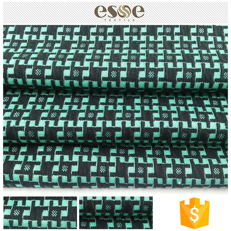 Unique Chinese assured quality jacquard tapestry textile fabric plain design latest