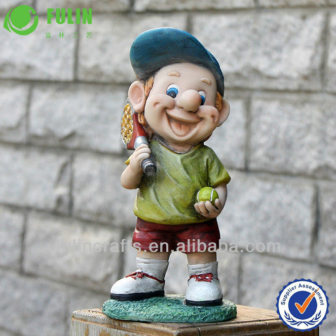 Popular Design Polyresin Garden Decoration Of Gnome