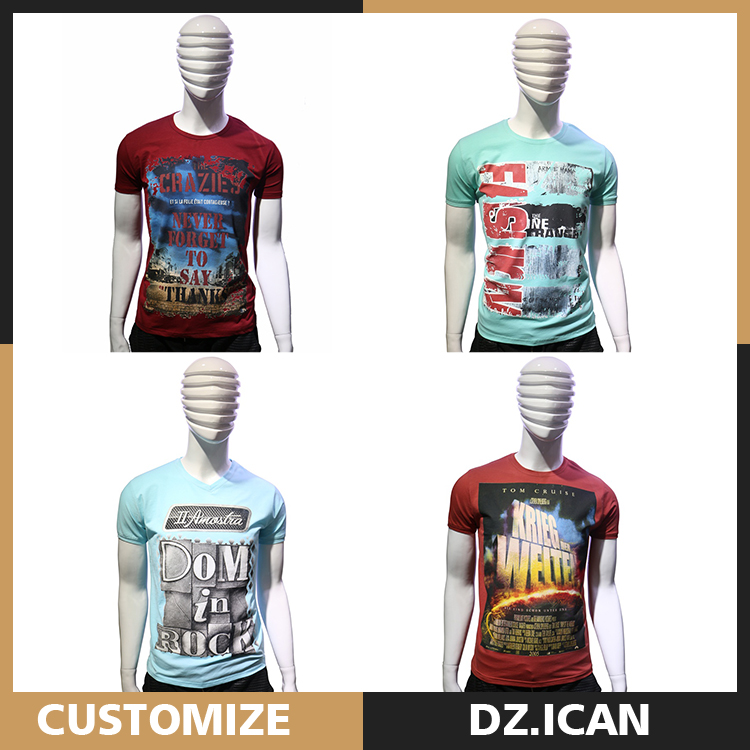 Wholesale High End Fashion Style Plain Sublimation T-Shirt