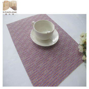high quality and durable gold pvc coaster with fair price