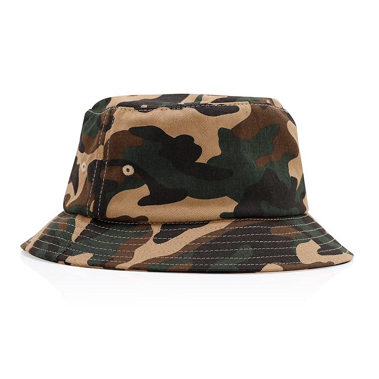 Пользовательские унисекс Военная Униформа Премиум хлопок и полиэстер ткань мужская и женская Охота шляпа Топ камуфляж ведро шляпа
