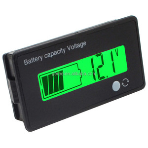 GY-6D Y6 Y6D 12V 24V 36V 48V Digital Acid Lead Lithium Battery Capacity Indicator tester meter 2s-15s