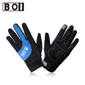 BOI Touch-screen Cycling Sport Gloves Full Finger Cycling Gloves