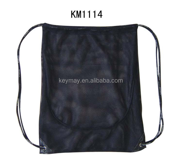 drawstring backpack kids mesh backpack manufacturer mesh net gift backpack
