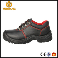 GuangZhou mens office engineering working leather safety shoes