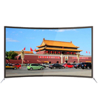 Television factory 50 55 58 inch 4k hd curved led tv in China