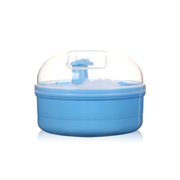 Pp Plastic Powder Container With Puff