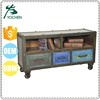 Chinese old style fashion tv rack cabinet design