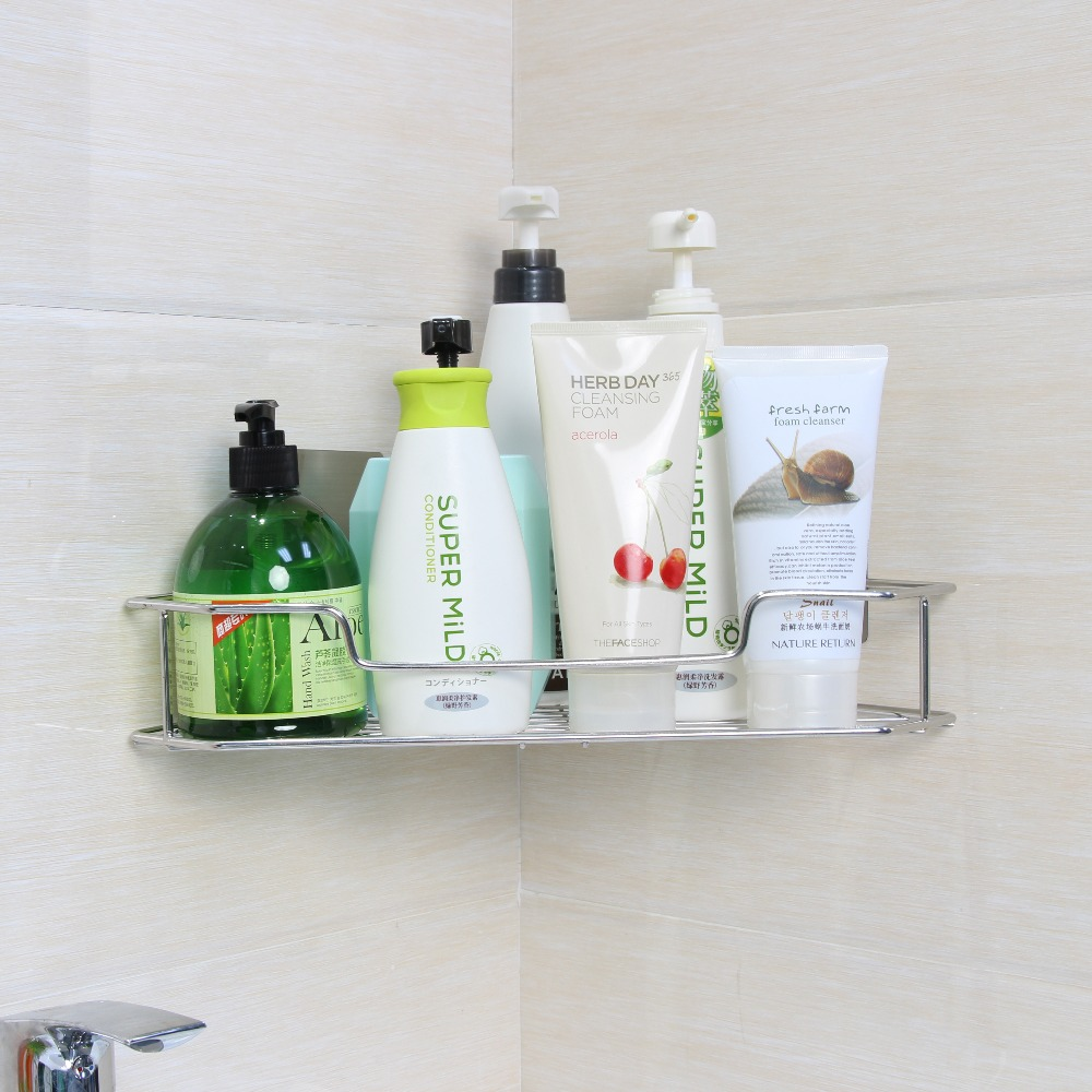 shower showerhead shelves collections tia over all rustproof the caddy wet items arent products bath teak that