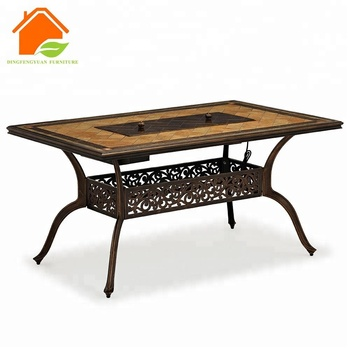 Ceramic Tile Top Outdoor Furniture
